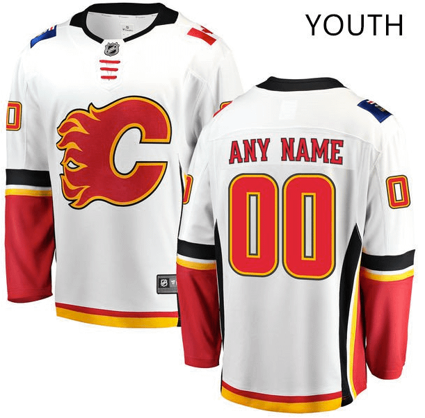 reputable site 627ad 324e8 🔥 Calgary Flames NHL Hockey Jersey For Men, Women, or Youth | 🚨Refuse You  Lose 🚨