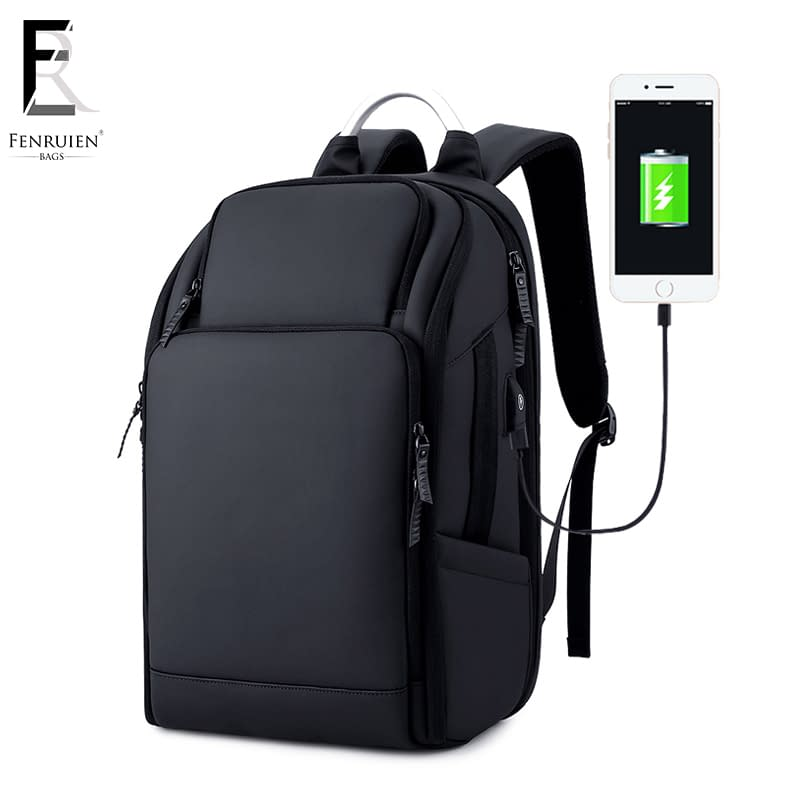 Anti-Theft Water Resistant Backpack with Charging Port