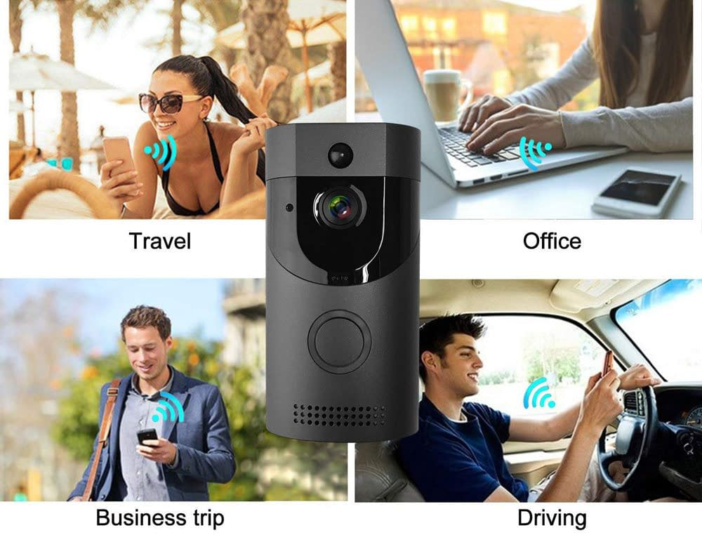 Smart Video Doorbell for iPhone or Android