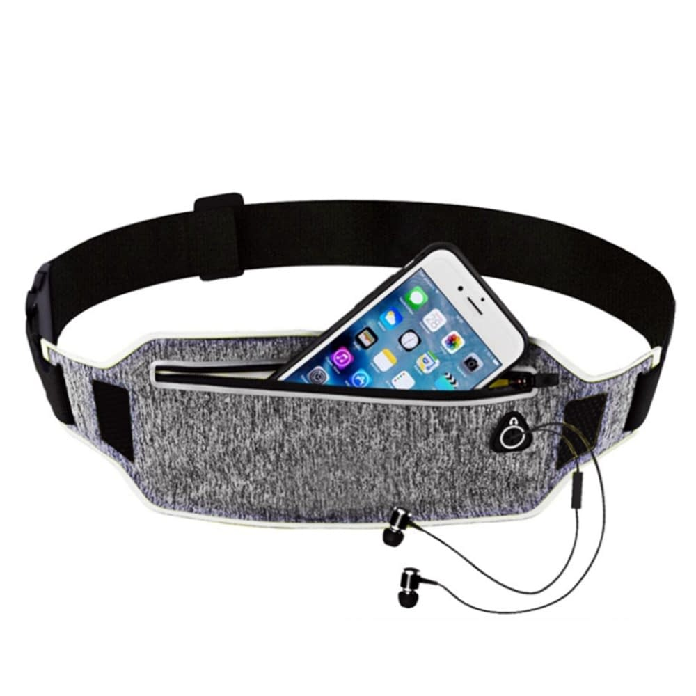 Sports Waist Bags with Hidden Pouches